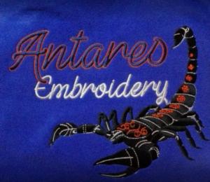 Antares Embroidery Logo