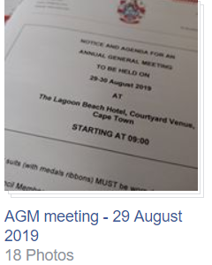 AGM meeting - 29 August 2019
